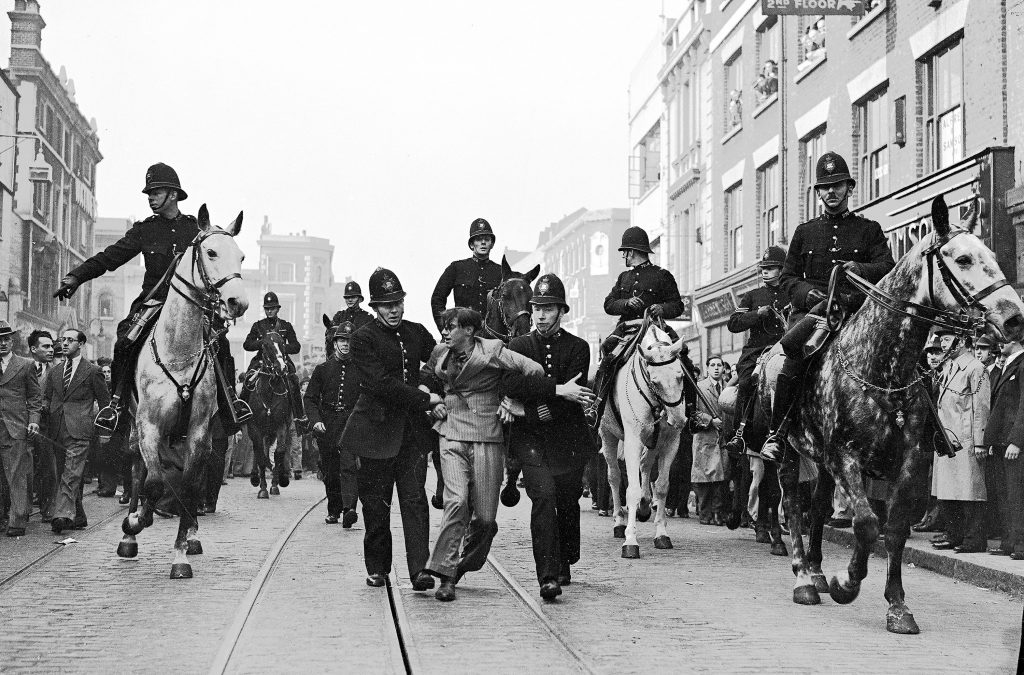 Cable Street demonstration