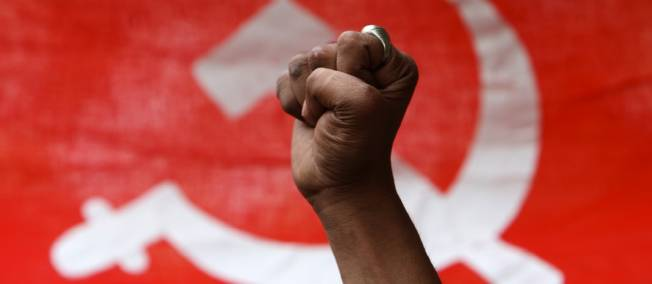 poing communiste