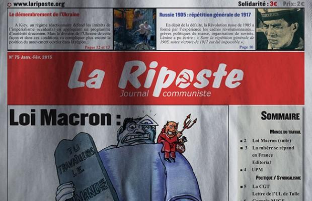 La Riposte - Editorial du n°75  Edito-75-620x400