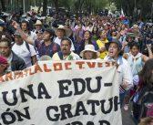 Solidarité avec le mouvement des enseignants au Mexique !