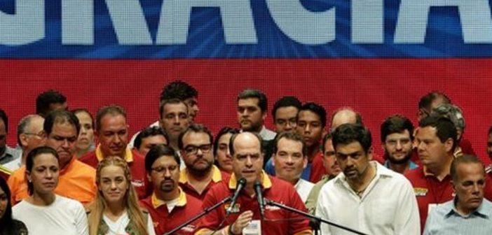 Au Venezuela : la réaction en marche