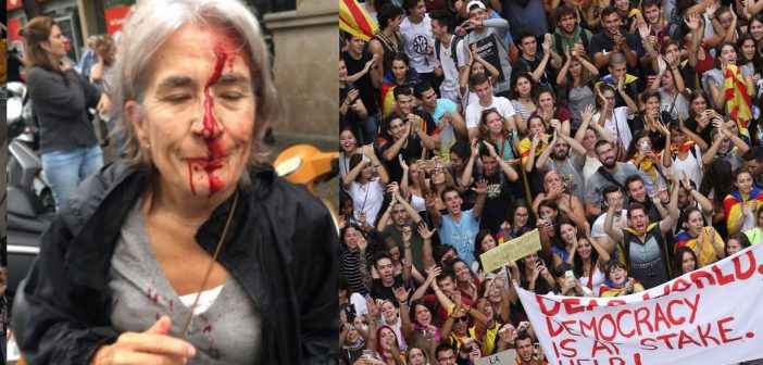 La lutte pour l'émancipation nationale et sociale en Catalogne.