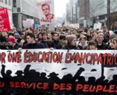 Mobilisation des étudiant.e.s et des lycéen.ne.s contre la privatisation de l'éducation